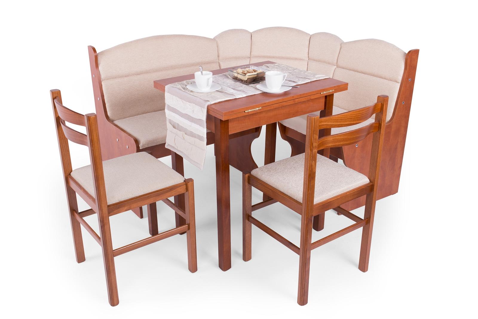Ádám konyhai sarok (2 szék + asztal + konyhai sarok) (D)